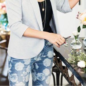 Lauren Conrad floral jeans